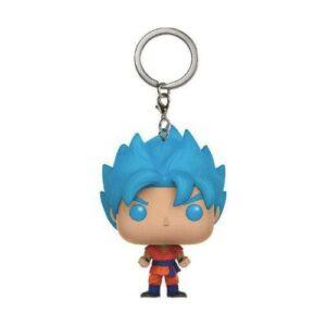 Porte Clé DBS Pop Goku SSJ Blue