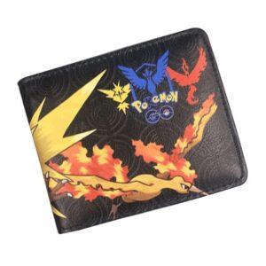 Portefeuille Pokémon Électhor Sulfura Artikodin