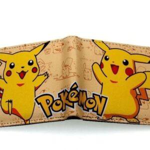 Portefeuille Pokémon Pikachu Kawaii