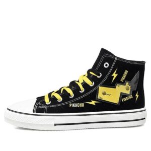 Chaussures Pokémon Pikachu Noir et Jaune