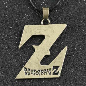 Collier Dragon Ball Z Logo Or