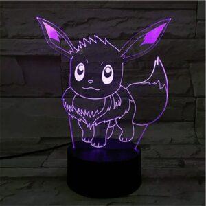 Lampe Pokémon Évoli