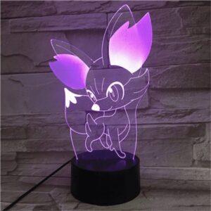 Lampe Pokémon Feunnec