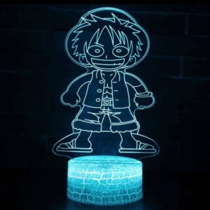 Lampe One Piece Captain Luffy
