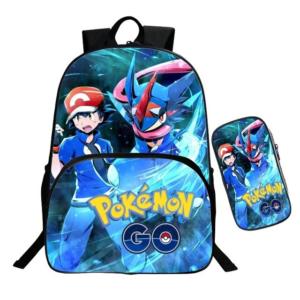 Sac A Dos Pokémon Sacha et Amphinobi