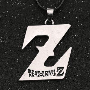 Collier Dragon Ball Z Logo Argent