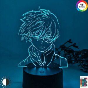 Lampe My Hero Academia Shoto Todoroki