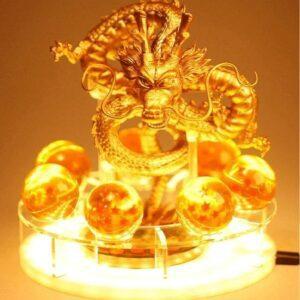 Lampe Dragon Ball Z Shenron Or