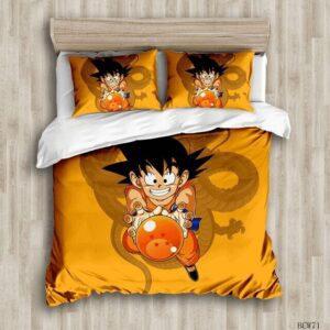 Housse De Couette Dragon Ball Goku Petit