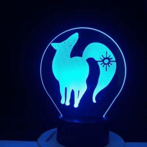Lampe Seven Deadly Sins Renard de l'Avarice