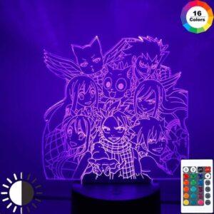 Lampe Fairy Tail Équipe de Natsu