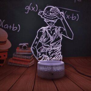 Lampe One Piece Monkī Dī Rufi