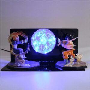 Lampe Dragon Ball Z Goku vs Vegeta SSJ