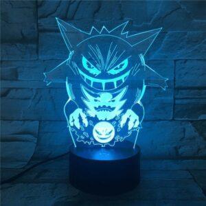 Lampe Pokémon Fantominus Spectrum Ectoplasma