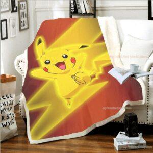 Plaid Pokémon Pikachu Éclair