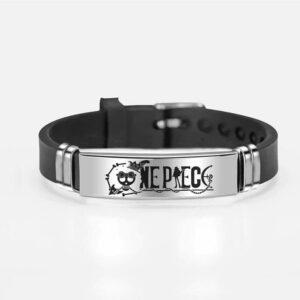 Bracelet One Piece Jolly Roger Brook