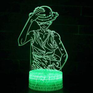 Lampe One Piece Mugiwara no Luffy