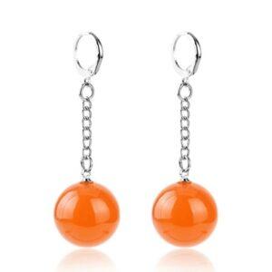 Boucle D'oreille Dragon Ball Potara Orange