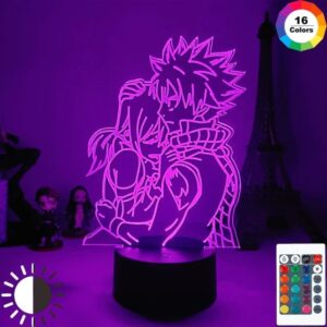 Lampe Fairy Tail Natsu Lucy