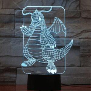 Lampe Pokémon Dracolosse