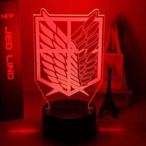 Lampe L'attaque Des Titans Bataillon d'Exploration
