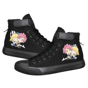 Chaussures Fairy Tail Natsu et Lucy