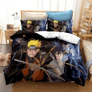 Housse De Couette Naruto vs Sasuke