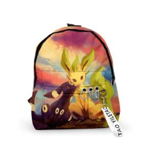 Sac A Dos Pokémon Noctali et Phyllali