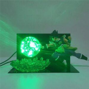 Lampe Dragon Ball Z Broly Attaque