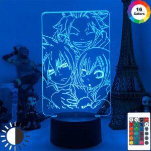 Lampe Fairy Tail Natsu Lucy Grey