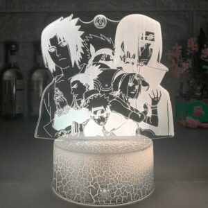 Lampe Naruto Personnages