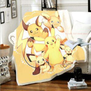 Plaid Pokémon Pichu Pikachu Raichu