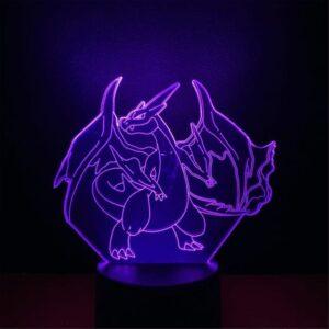 Lampe Pokémon Méga-Dracaufeu
