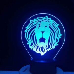 Lampe Seven Deadly Sins Lion de l'Orgueil