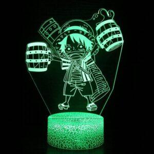 Lampe One Piece Luffy Bière