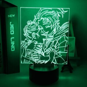 Lampe Demon Slayer Frère et Sœur