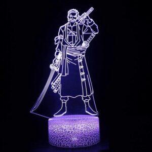 Lampe One Piece Roronoa Zoro