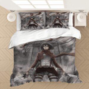 Housse De Couette l'Attaque des Titans Mikasa Badass