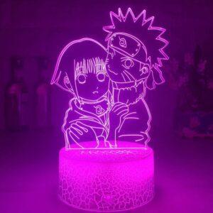 Lampe Naruto et Hinata Love
