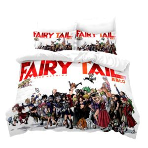 Housse De Couette Fairy Tail Tous les Personnage