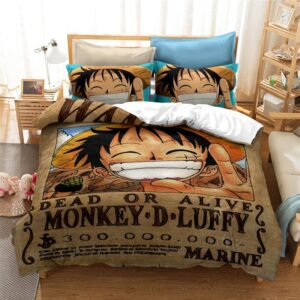 Housse De Couette One Piece Luffy Wanted