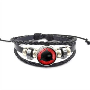 Bracelet Naruto Mangekyou Sharingan Shin