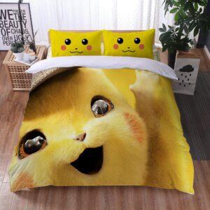Housse De Couette Pokémon Détective Pikachu