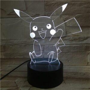 Lampe Pokémon Pikachu Hello