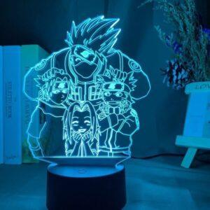 Lampe Naruto Équipe Kakashi