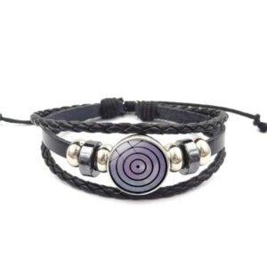 Bracelet Naruto Mangekyou Sharingan Rinnegan