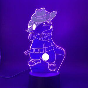 Lampe Pokémon Pikachu Enquête