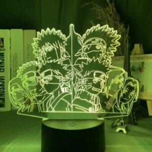 Lampe Naruto Équipe Kakashi et Minato