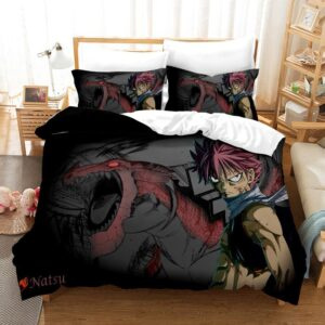 Housse De Couette Fairy Tail Natsu Chasseurs de Dragons
