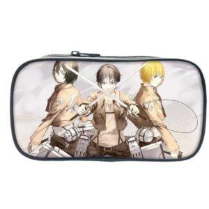 Trousse L'attaque Des Titans Eren x Mikasa x Armin